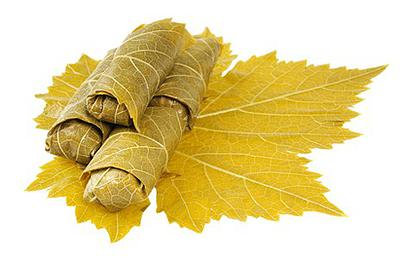 Листья винограда консервированные 1 л.
