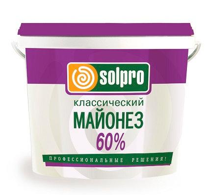 "Майонез ""SolPro"" 60% 10 л."