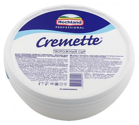 """Сыр творожный """"Креметте"""" 65 % (Хохланд) 2 кг."""