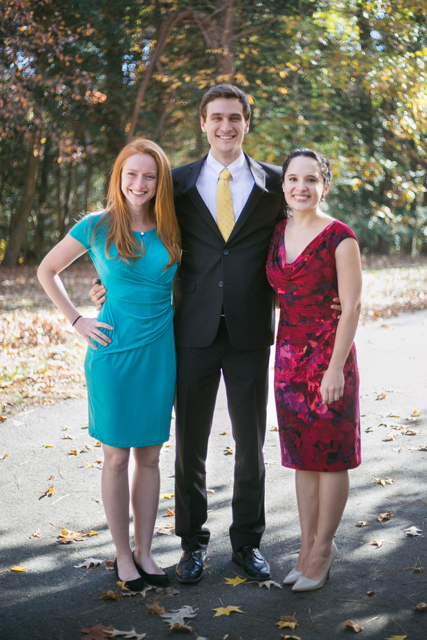 Rachel, Ryan and Justine McGiboney