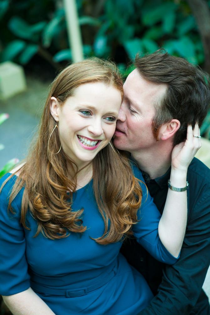 Cliona & David Romantic Session in Dublin Botanic Garden