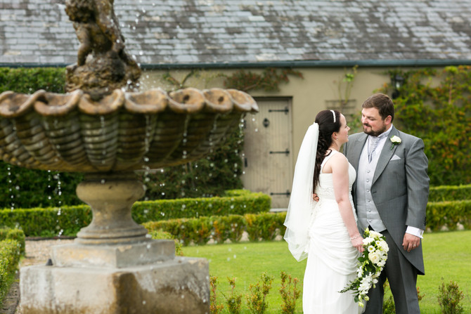 September wedding of Emma & Colin in Barberstown Castle
