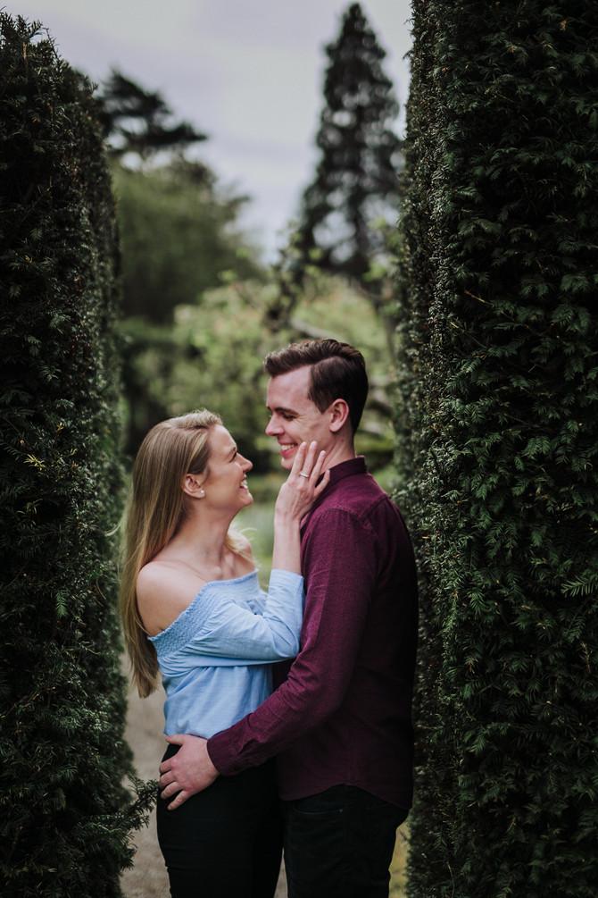 Lisa and Derek romantic photo session