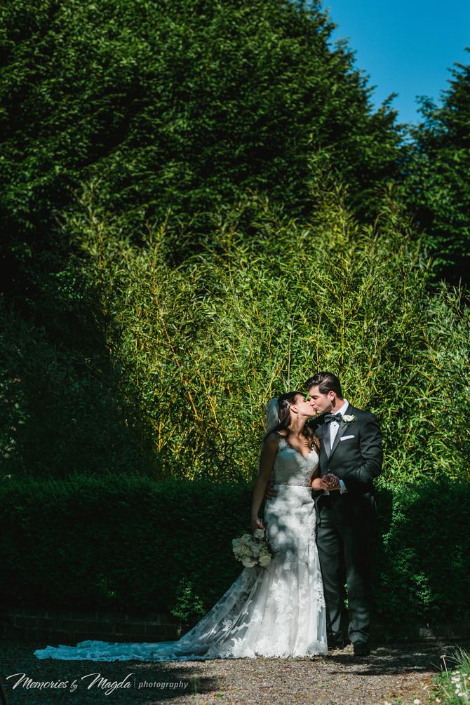 Sarah & Domenic - Irish destination wedding in Barberstown Castle