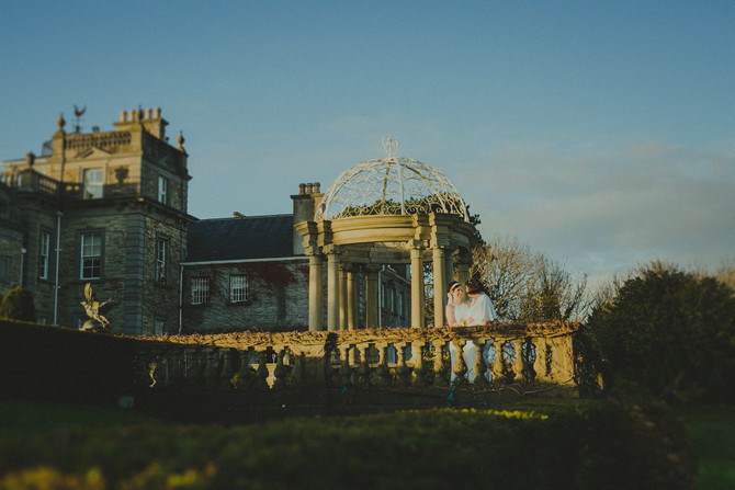Dee & Mairead - Gatsby style wedding in Palmerstown House Estate