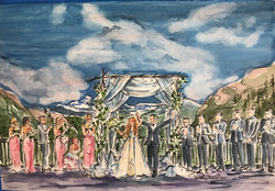 Amanda Banff wedding