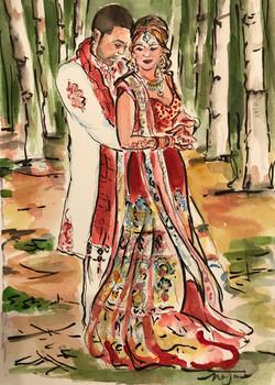 Sangita and Allan