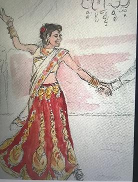 Maya dancing