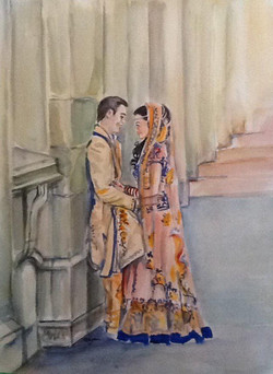 ethnic bridal dress