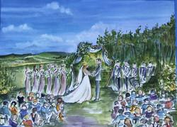 Shanna's winery wedding