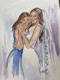 dana and sister