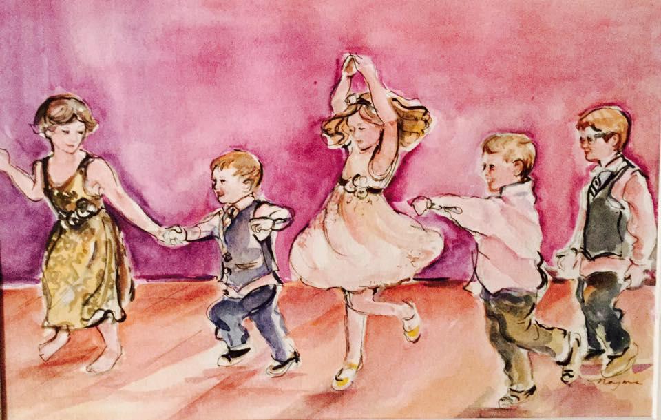 dancing children 3