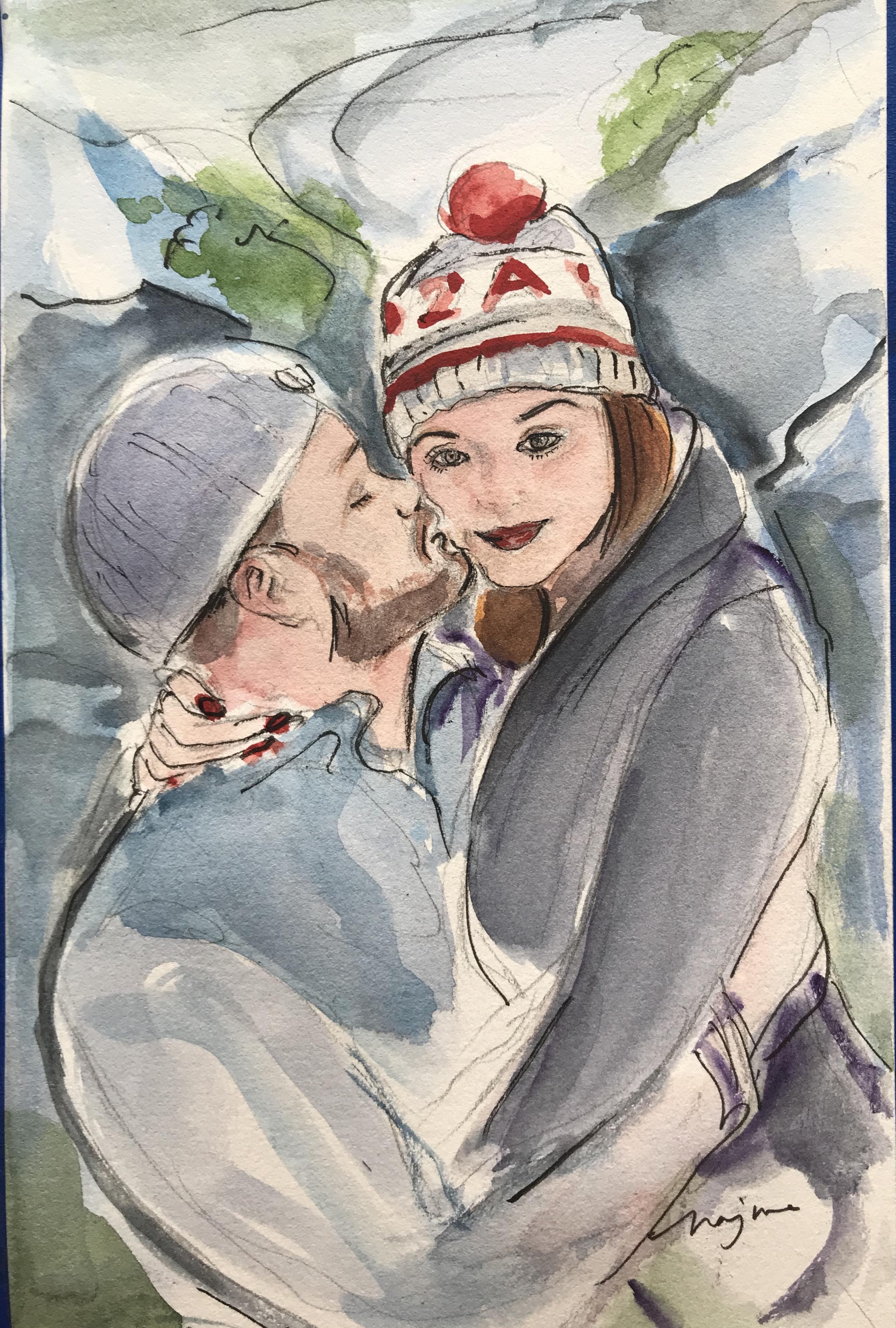 Jill and Steve