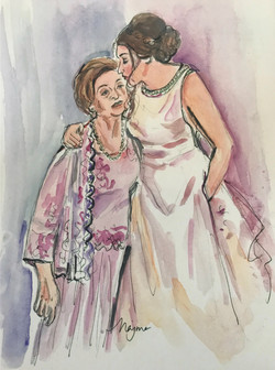 Naomi and grandmother