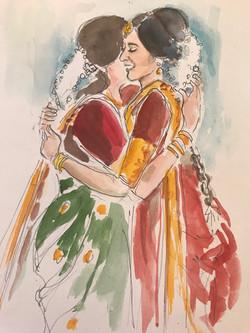 Vijaya and Mother