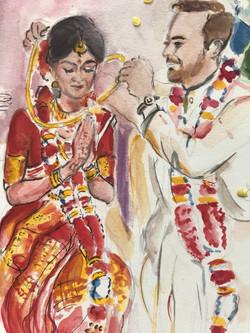 Vijaya's mangal sutra