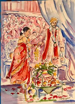 Anika wedding ceremony