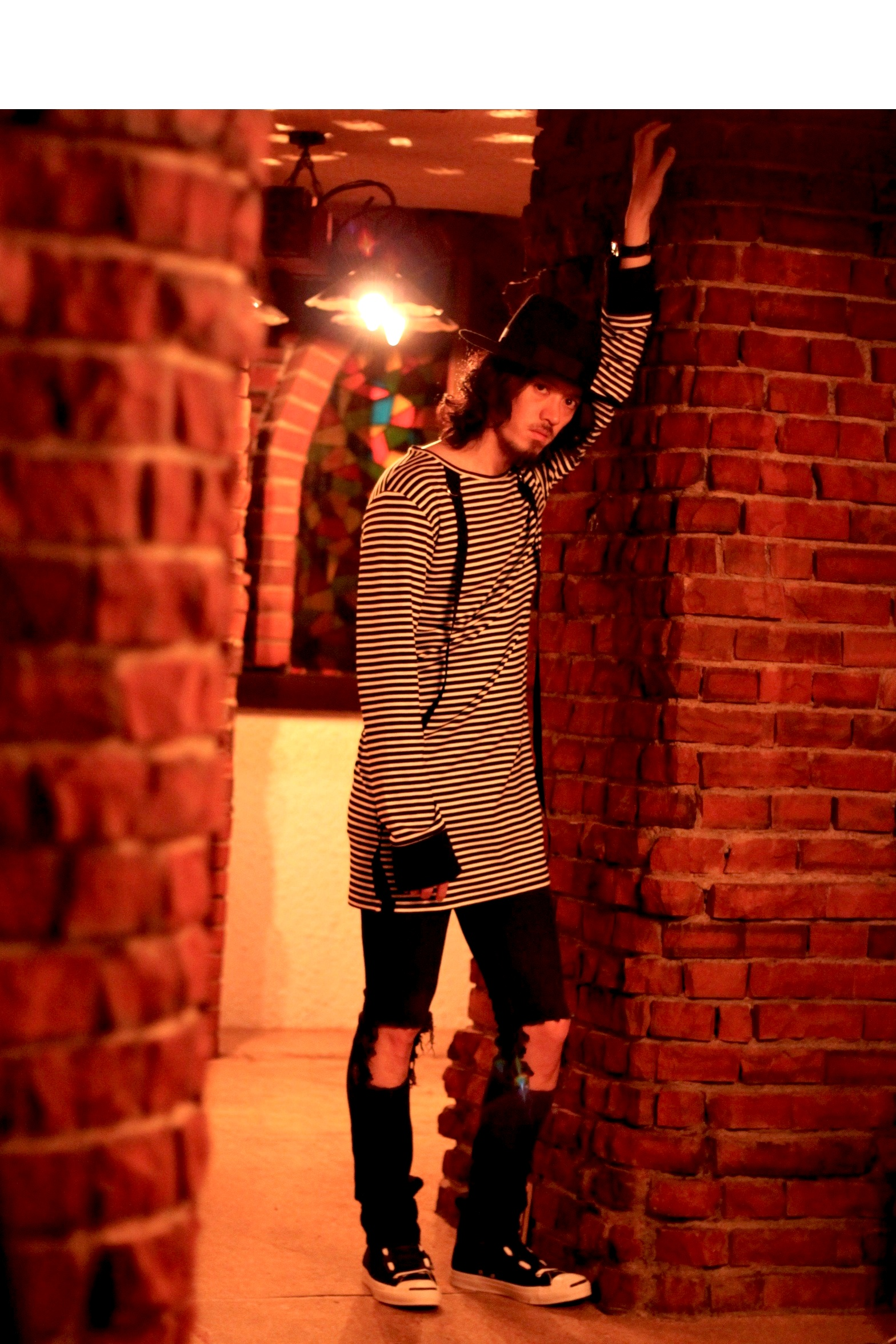 stripe long LOOK 02