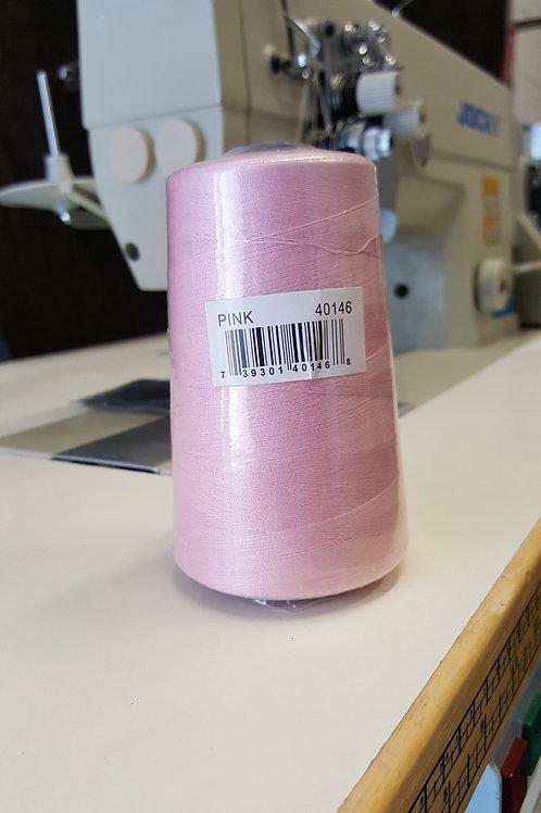 Spun Poly 40/2 Pink 5000MTS