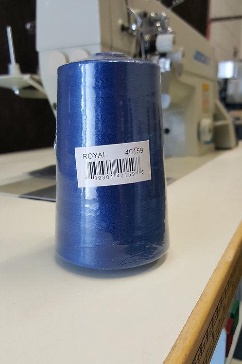 Spun Poly 40/2 Royal Blue 5000MTS