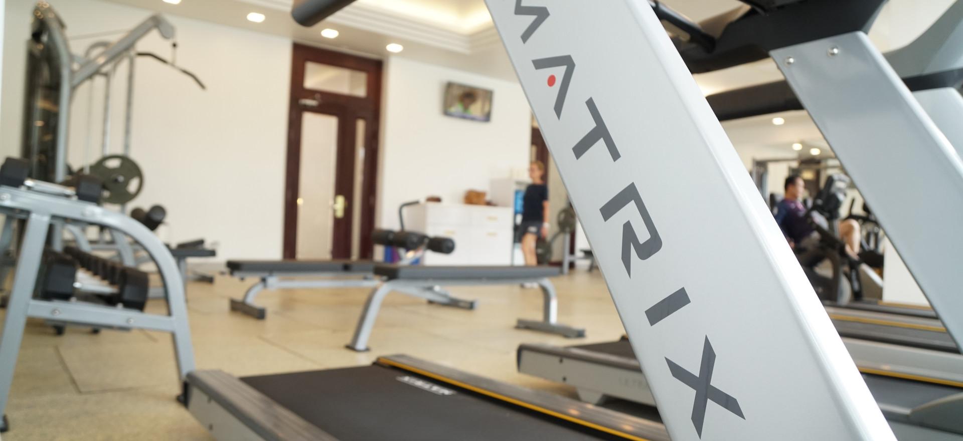 Matrix Treadmill Machine