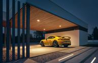 Porsche Cayman CGI