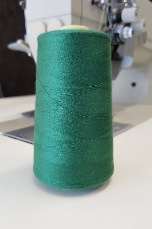 Spun Poly 40/2 Mid Green 5000MTS