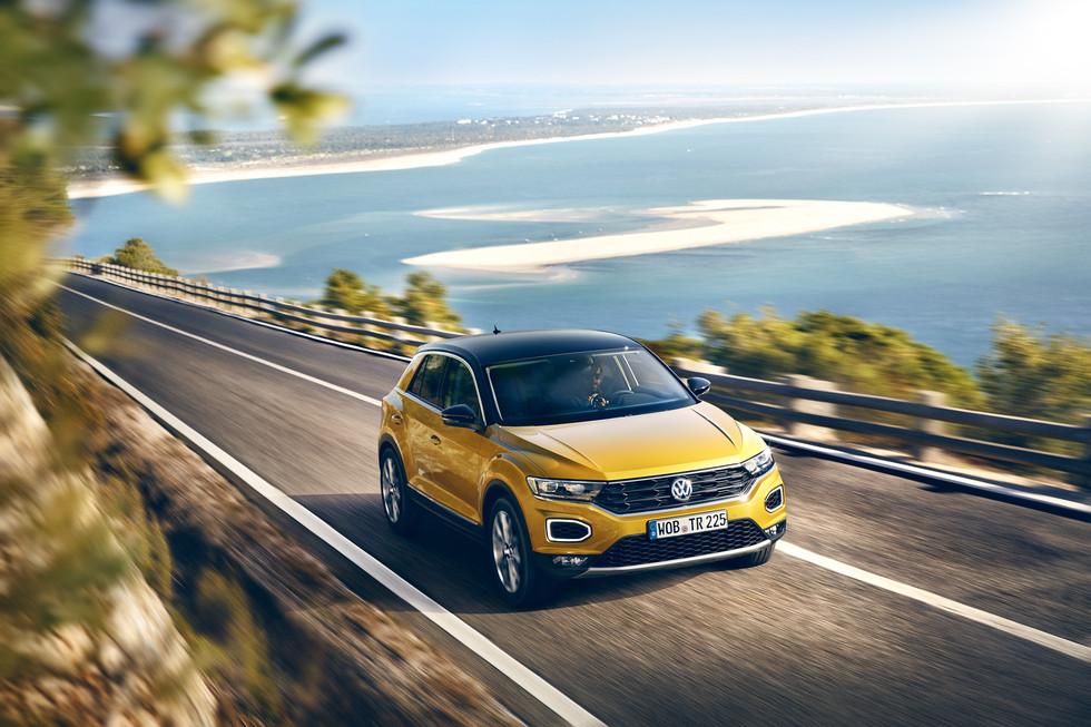 VW T-ROC in Portugal