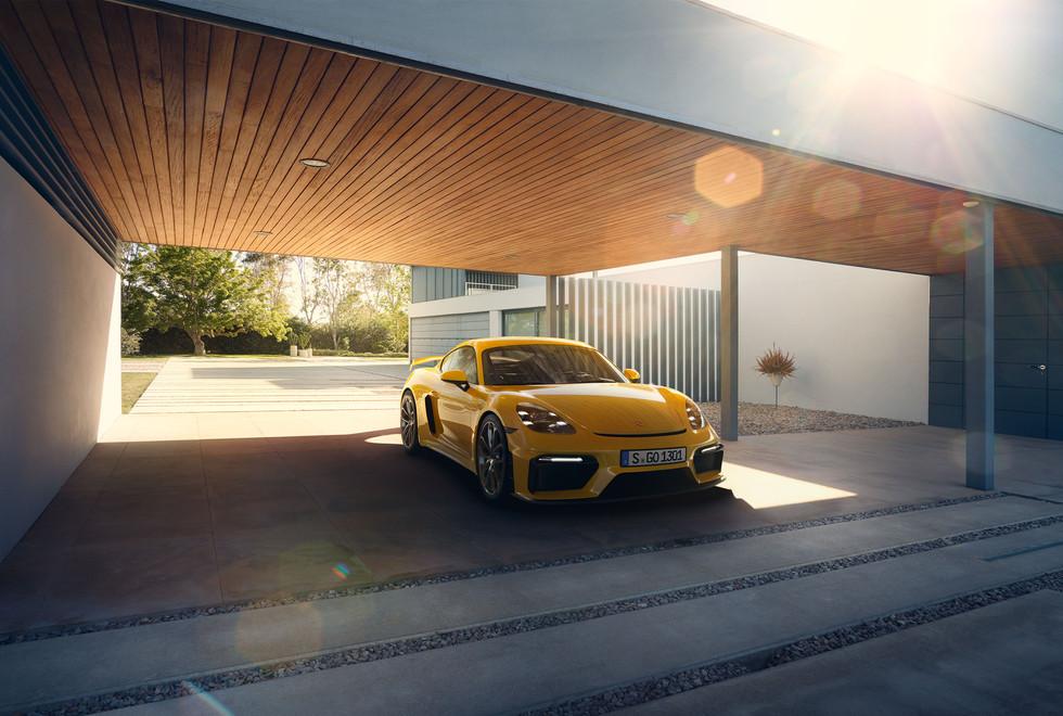 Porsche 718 Cayman GT4 - CGI Shot