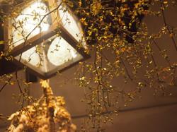 アンティークドイリーを使用した照明