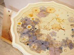 お花のサイドテーブル