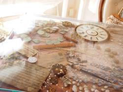 レジンダイニングテーブル