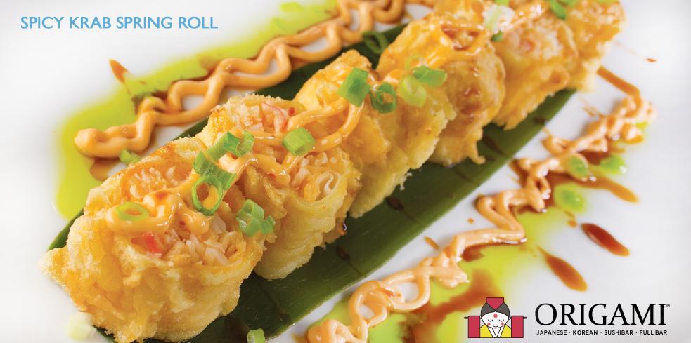 Spicy Krab Spring Roll