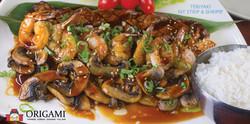 Teriyaki Steak Shrimp