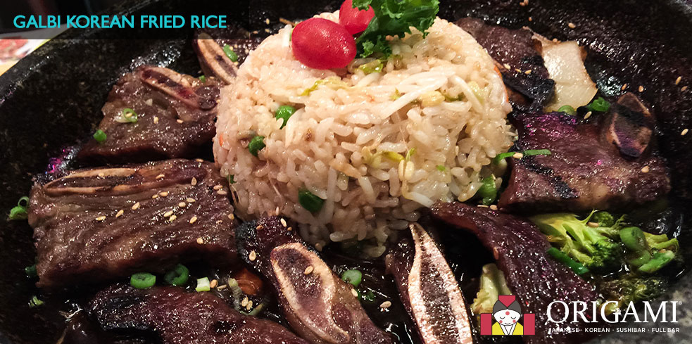 Galbi Korean Fried Rice
