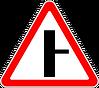 2.3.2 Примыкание второстепенной дороги
