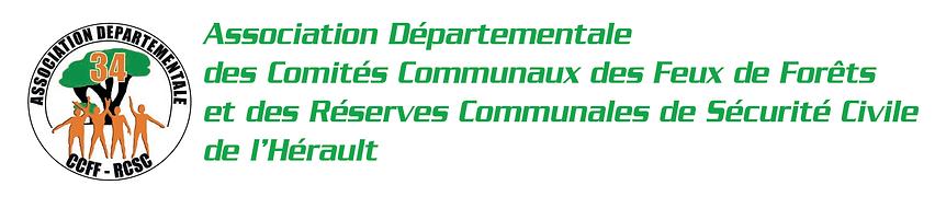 Association départementale des CCFF et RCSC de l'Hérault 34