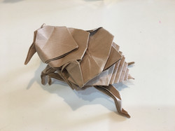 Origami Bed Bug