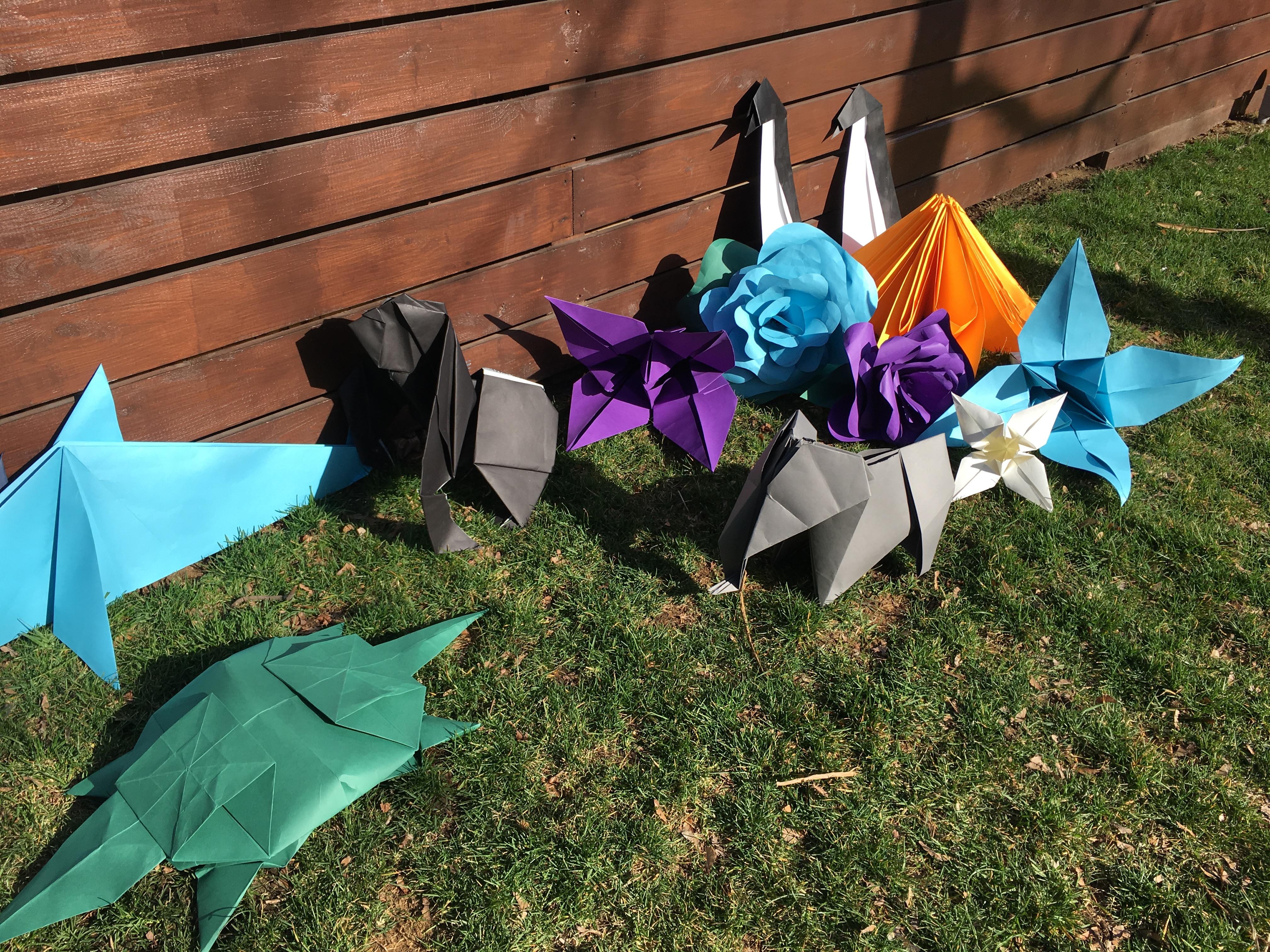 Oversized Origami Zoo