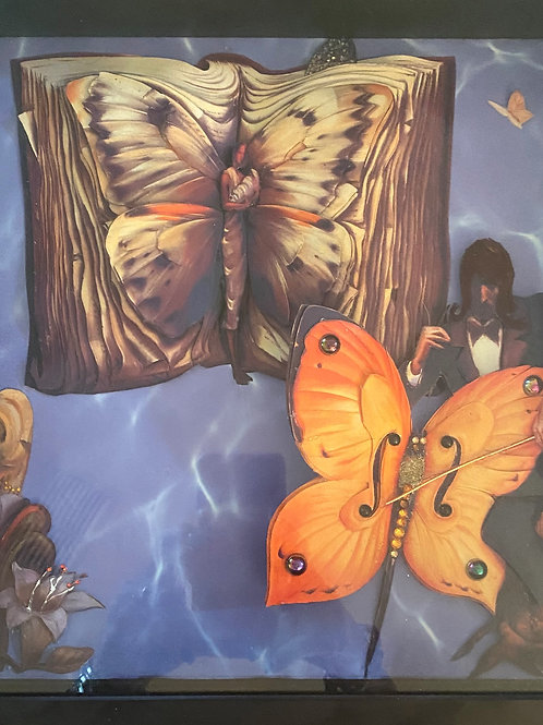 Butterfly and Musician