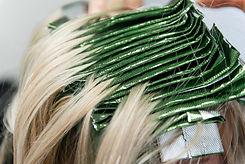 Annex Hair Studio Foils for Total Color Coverage in Salon