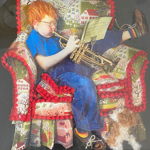 Boy and his Trumpet