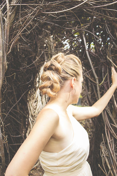 Bridal Wedding Hair in Central PA from Annex Hair Studio