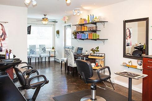 Annex Hair Salon Interior Shot Newville PA