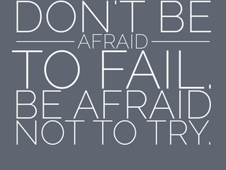 Don't Be Afraid to Fail, Be Afraid Not to Try - Lessons from Yoda and Dad (2.5 Minute Read)