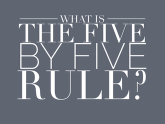 What is the 5 by 5 Rule and How to Use It (Reading Time: 4 minutes)