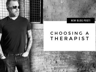 Choosing A Therapist (Read Time: 3 mins)