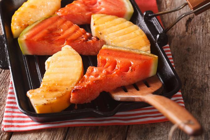 """Grilled Fruit """"Steak"""" Platter"""