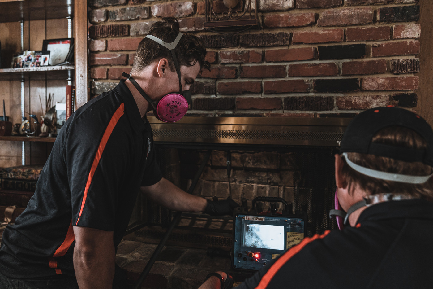 Important to have a certified inspector in your home. We scan your entire flue system looks for defects. You can look at everything on the screen as we are performing our service, and get a detailed report after we are completed.