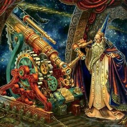 The Astronomer Fantasy Wizard Jigsaw Puz
